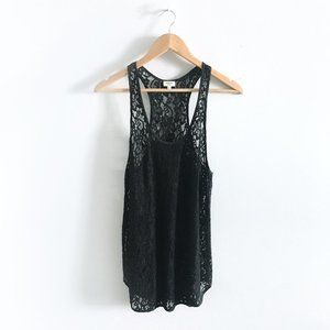 Wilfred Madeline Lace Racerback Tank - Small